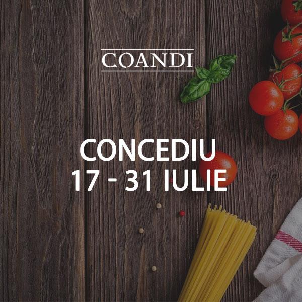 Concediu Pizza Coandi